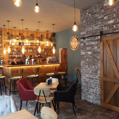Modernisation et rénovation d'un café